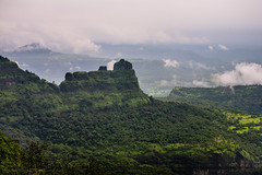 Mountain Landscape - Padargad view from Bhimashankar, Maharashtra, India