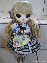 Dolls (tiramisu_addict) Tags: dolls handmade lolita crafty chiara clothespin innocentworld yellowblume grooveinc dalclair cristinachaput