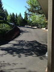 Steep driveway! (tehan) Tags: house scotts kori