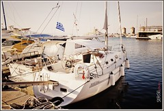 Rhodes (Serge 585) Tags: travel sea spring mediterranean yacht may greece wharf april rhodes molo berth  ormeggio