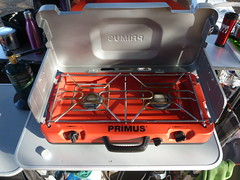 Let's cook. (fordsbasement) Tags: camping gear campstove