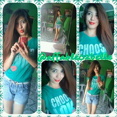 *my sexy green t-shirt  like it (affable02belle) Tags: green me pretty pinay capturedmoments photogrid sexyfit me02 streamzoo myself02 creatingbyme