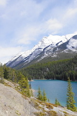 Two Jack Lake (white.choco.moka) Tags: lake canada alberta banffnationalpark canadianrockies twojacklake