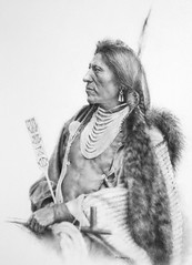Goose (steeelll) Tags: art drawing goose nativeamerican charcoal