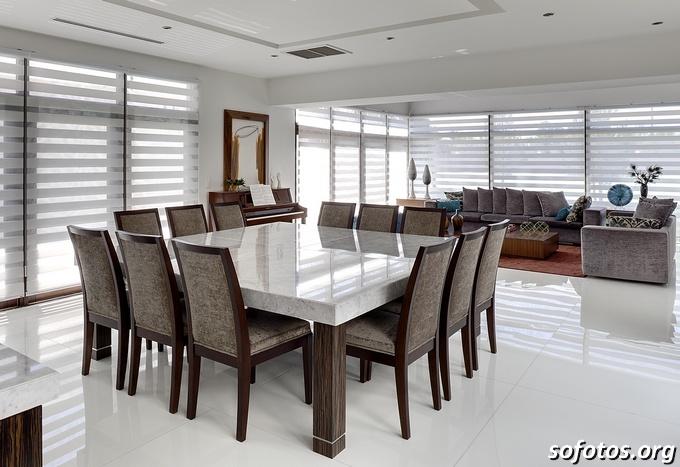 Salas de jantar decoradas (55)