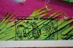 Herculoids Puzzle Close-Up (Whitman 1968) (Donald Deveau) Tags: herculoids hannabarbera puzzle cartoon whitman
