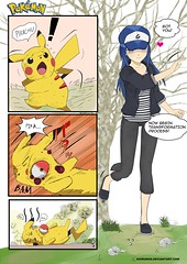 POKEMON catching (Love Giantess) Tags: femdom bdsm sm pokemon pikachi cartoon comic manga anime pikachu raichu pichu