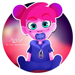 Any Malu  (Mands Arts) Tags: anymalu any malu osurrealmundodeanymalu o surreal mundo de pink color colors colour colours colorful colourful colorless blackandwhite black white vlog vlogger youtube youtuber canal channel draw drawing character concept photoshop painttoolsai paint tool sai ps cc digitalart digitalpainting digitalpaint digital arte art mandsarts mands arts