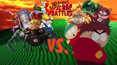 Moleman's Epic Rap Battles #38: Eric Cartman Vs. Porky Minch (Moleman9000) Tags: moleman9000 molemanninethousand moleman merb erboh erb epic rap rapping rapper lyrics battles battle history song crossover fanfiction south park eric cartman nintendo mother earthbound porky minch pokey villains evil giygas cthulhu lovecraft cartoon kenny comedy narrative resonx video gaming