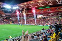 20160818_0287_EOS M-18 Suncorp Fireworks (johnstewartnz) Tags: canon canonapsc eos eosm efm1855mmf3556isstm nrl rugbyleague suncorpstadium laingpark brisbanebroncos bulldogs fireworks sport