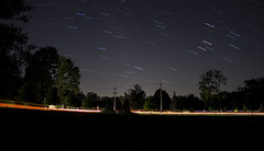 365-282 ( estatik ) Tags: 365282 365 282 august222016 aug 82216 mon monday night longexposure startrails country lahaska newhope lowermountain streetroad buckscounty pa pennsylvania