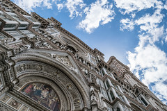 The Duomo in Florence (Pablo Gorosito) Tags: dome firenze florencia italy architecture arquitectura construccion view perspective perspectiva nikon nikkor duomo cathedral catedral