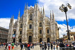 Milan-The Duomo (doveoggi) Tags: 9530 city italy lombardy milan duomo cathedral architecture europe