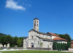 Armeno (NO) - Chiesa Parrocchiale di Santa Maria Assunta (Sec. XII) (frank28883) Tags: armeno novara cusio chiesa romanico campanile parrocchiale medioevale