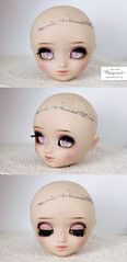 Face up (Mikiyochii) Tags: doll dolls pullip pullips repaint makeover faceup groove custom fantasy