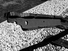 Kamp Westerbork (Miranda Ruiter) Tags: jewish transport victims hooghalen assen concentrationcamp kamp bent rail monument westerbork