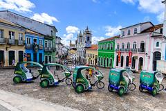 Pelourinho Tourism, Salvador (e.w. cordon) Tags: brazil bicycle tourism tourist city salvador bahia travel ewcordon cidadealta history historical pelourinho afrobrazilian southamerica