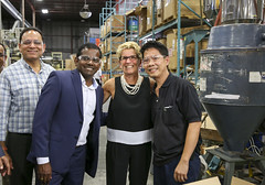 IMG_1142  Premier Kathleen Wynne toured RAM Plastics in Scarborough. (Ontario Liberal Caucus) Tags: scarborough industry thiru smallbusiness business