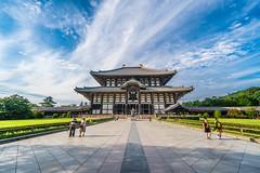 Tōdai-ji Temple (RQ Lee) Tags: japan nara temple wodden buidling historic