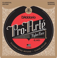 D'Addario EJ45 Pro-Arte Nylon Classical Guitar Strings, Normal Tension (WUPPLES) Tags: classical daddario ej45 guitar normal nylon proarte strings tension