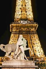 Tour Eiffel (hervekaracha) Tags: france paris toureiffel nikon d610 nuit night nightshot