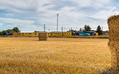 37609 & 37602 Botany Bay ~ 23.8.16 (deltic17) Tags: drs directrailservices class37 networkrail testtrain hay bales field harvest country countryside diesel loco locomotive