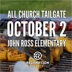 Were having a tailgate party at John Ross right after the service on October 2nd! Well setup behind the school by the playground, grill out, and just relax with friends. Well have inflatables for the kids, students, and a few brave adults too! Dress ca (rcokc) Tags: were having tailgate party john ross right after service october 2nd well setup behind school by playground grill out just relax with friends have inflatables for kids students few brave adults too dress casually church feel free wear jersey or shirt from your favorite team be ready fun sure invite neighbors  we will blast buildcommunity edmond edmondok