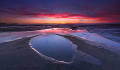 In The Land of the Blind (sjs61) Tags: sjs61 steveskinnerphotography steveskinner surf sunsets seascape slowexposure longexposure landscapes lajolla hospitalsreef reflections bluehour clouds
