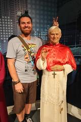 Craig with Ratzinger (ec1jack) Tags: madametussauds wax works bakerstreet westminster cityofwestminster london england britain uk europe october 2016 ratzinger pope