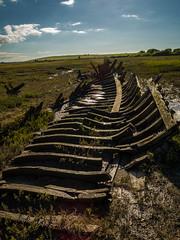 IMGP6765 (Andrew_5J) Tags: pentax k30 wreck shipwreck sea marsh estuary rust abandoned outdoor landscape fleetwood sinking