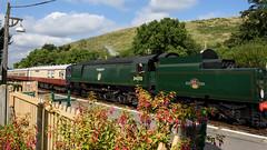 Swanage Railway 11 (Matt_Rayner) Tags: swanage railway corfe castle station steam train manston battle of britain class