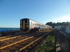 150221 & 153372 Dawlish (15) (Marky7890) Tags: gwr 150221 class150 sprinter 2t24 dawlish railway station devon train 153372 class153 supersprinter