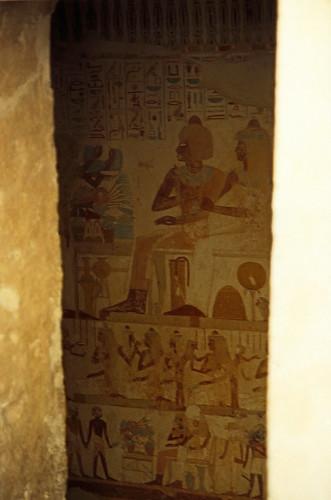 "Ägypten 1999 (413) Theben West: Tal der Noblen, Al-Qurna • <a style=""font-size:0.8em;"" href=""http://www.flickr.com/photos/69570948@N04/29613026175/"" target=""_blank"">View on Flickr</a>"