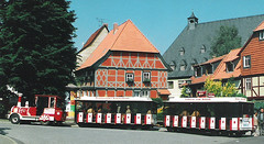 Germany.  June 12th.-20th. 1999 (Cynthia of Harborough) Tags: 1999 architecture engines people trains transport