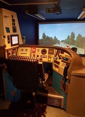 Simulator (R~P~M) Tags: train railway diesel dmu multipleunit 168 chilternrailways dbarriva aylesbury bucks buckinghamshire england uk unitedkingdom greatbritain simulator