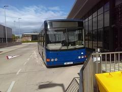 Go Goodwins WSV550 bus 9 (Mike McNiven) Tags: go goodwins wythenshawe interchange wsv550 bus 9 wright cadet urmston sr05xmk t70jls