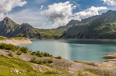 Austria - Luner See (Henk Verheyen) Tags: austria oostenrijk vorarlberg at luner see meer water bergen mountains