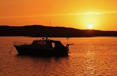 Loch Eynort sunset (Zinaad) Tags: loch eynort south uist hebrides touchdown windpower