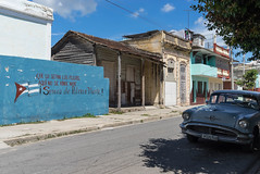 Propaganda (Ni1050) Tags: ni1050 cuba sony a7 ilce7 ninicrew kuba karibik sozialismus habana61tour repblicadecuba caribbean insel island atlantischerozean atlantik 2016 reise travel journey socialism auto autos car cars us strasenkreuzer automobile taxi zeitreise farben bunt stadt lahabana havanna atlanticocean cienfuegos oldsmobile