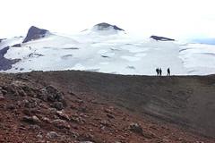 Finally at the top (Freyja H.) Tags: iceland tindfjll tindfjallajkull fjallabak fjallabaksyra mir ma peak glacier mountain crater caldera geology outdoor nature landscape sindri scoria cinder cindercone