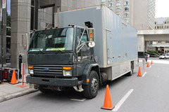 Ford Cargo (So Cal Metro) Tags: ford cargo cabover coe truck filming movie montreal quebec