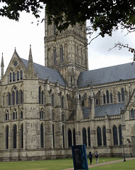 Salisbury Cathedral 2016 (Sweet Mango 1965) Tags: salisbury 2016 cathedral wiltshire architecture placeofworship