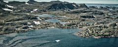 Village (Parcivall) Tags: greenland grnland airborn iceberg arctic helicopter