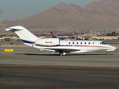 N93S Cessna 750 Citation X  LAS (Jetstar31) Tags: n93s cessna 750 citation x las