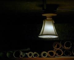 Lamp and Drawings (1D) (ssepanus) Tags: canon eos fotodiox 55110mm sekor sepan 1dclassic 55110mmf45