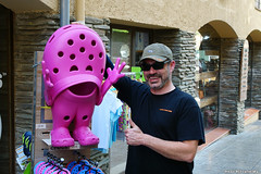 For the love of pink Crocs (Red Cathedral uses albums) Tags: sonyalpha a77markii a77 mkii alpha sony sonyslta77ii slt evf translucentmirrortechnology ocr redcathedral contemporaryart alittlebitofcommonsenseisagoodthing pink roze croc shoe