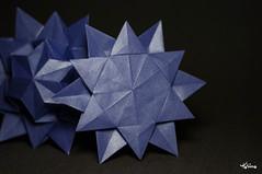 Star (talina_78) Tags: origami star hexagon stars origamistar