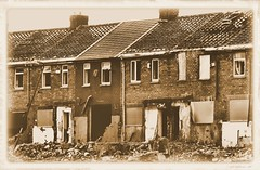 1939 or 2013 ?? (N E Pic's) Tags: windows war pipes demolition roofs hartlepool dors rooof brkenhouses