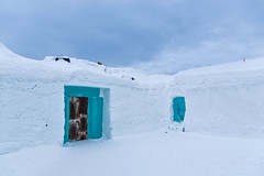 Backdoor (madpixel.si) Tags: art ice hotel sweden kiruna
