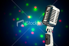 Retro style microphone (larus photography) Tags: old light red music green silver stage event chrome sound karaoke microphone oldfashioned defocused audioequipment stagelight artsandentertainment retrorevival soundrecordingequipment popularmusicconcert performingartsevent objectsequipment artsbackgrounds